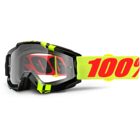 100% Accuri Anti Fog Clear Gafas enduro, zerbo